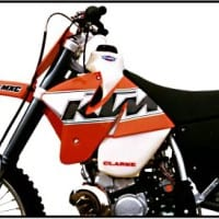 KTM 2 STROKES 250/300/380 (1999-2002) EXC AND MXC MODELS. 3.5GAL #11402