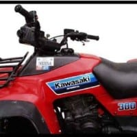 KLF 300 BAYOU (ATV) (1986-1987) STOCK CAPACITY #11414