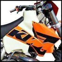 KTM 2-STROKES 200/250/300 (2003-2007) 3.5 GAL. #11459