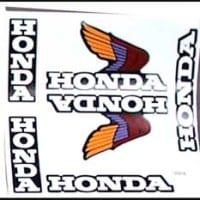 S-7 Honda Wing Sheet Red/Purple/Gold