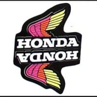 S-8 Honda Wing Sheet Pink/Red/Yellow
