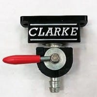 Clarke New Style Petcock Anodized with Groove